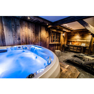 Spa Jacuzzi Chalet l'Etagne Courchevel
