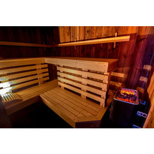 Courchevel 5-seater private sauna